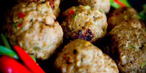 Spicy Lamb Balls recipe